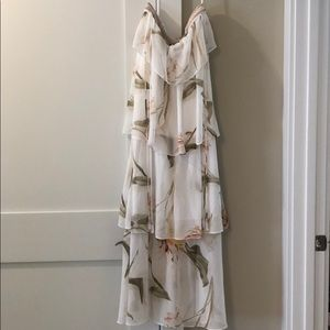 Tiered maxi from White House Black Market NWT